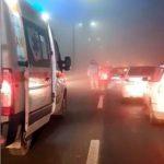 Accident cu trei vehicule implicate. Două persoane au fost rănite