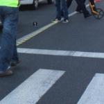 Copil lovit de mașină pe trecerea de pietoni. Șoferul a părăsit locul accidentului