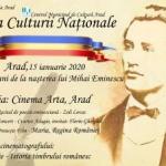 Ziua Culturii Naționale, la Arad – Poezie, muzică, expoziție și film