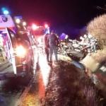 Accident pe DN 79, la Șimand. UPDATE Două persoane au fost rănite