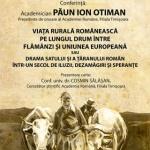 Academicianul Păun Ion Otiman va conferenția la Arad