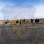 Beneficiari de ajutoare sociale, scoși la acțiuni de salubrizare în Arad
