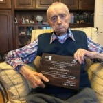 Dumitru Comânescu, declarat oficial al treilea cel mai longeviv bărbat al Planetei