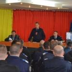 Întâlnire între Jandarmerie și instituțiile cu atribuții în prevenirea și combaterea violenței în sport