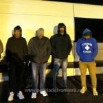 Cinci indieni, găsiți ascunşi într-o autoutilitară la PTF Nădlac II
