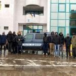 16 migranți din Siria, reținuți de polițiștii de frontieră de la Turnu