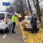 Taximetriștii din Arad, controlați de polițiștii locali
