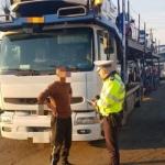 Transportatorii de marfă, în vizorul polițiștilor rutieri din Arad