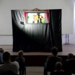 """Piesa de teatru de păpuși """"Pădurea fermecată"""", la cinematograful din Grădiște"""