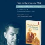 """Lansare de carte, la Arad. """"Viața și întoarcerea unui Halle"""", de Alexandru Potcoavă"""