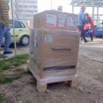 Consiliul Județean a adus la Arad aparatul de testare COVID-19