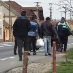Oraşul Nădlac, dezinfectat zilnic cu clor pentru că e tranzitat de persoane care intră în ţară pe jos