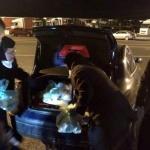 Măicuţele de la Schitul Tămand au dus mâncare caldă celor care lucrează la triajul de la Nădlac II