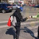Polițiștii locali din Arad derulează o campanie de informare despre noul coronavirus