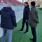 Echipa de omologare a stadionului, chemată la Arad, în aprilie