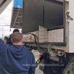 Țigări de contrabandă, descoperite într-un automarfar la PTF Nădlac II
