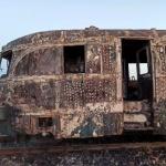 Un tren a luat foc între Sântana și Zimandu Nou. Pasagerii s-au autoevacuat
