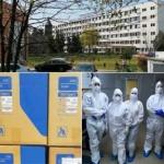 E.ON a donat Spitalului Județean Arad echipamente de protecție