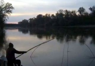 Doi bărbați prinși de jandarmi la braconaj piscicol pe râul Mureș