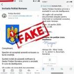Poliţia Română anunţă trimiterea de e-mailuri false în numele instituţiei