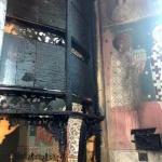 UPDATE Incendiu la biserica ortodoxă din cartierul Gai