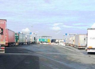 Punctul de Trecere a Frontierei Nădlac II, destinat exclusiv traficului de mărfuri