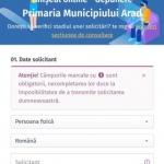 Primăria Arad a lansat un ghișeu online pentru depunerea documentelor