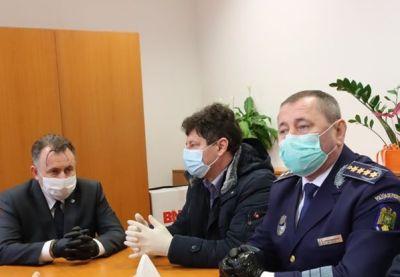 Ministrul Sănătăţii și șeful Poliției de Frontieră, la PTF Nădlac