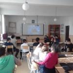 """Proiectul Peace Jam, la Școala """"Sabin Manuilă"""" Sâmbăteni"""