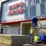 Spital de campanie amenajat în centrul expoziţional al CCIA Arad