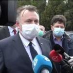 Ministrul Sănătății și dr. Musta de la Timișoara, prezenți la Arad