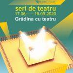 """Proiectul ,,Grădina cu teatru"""" continuă, la Arad. PROGRAM"""