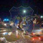 Caravană împiedicată de polițiștii locali să campeze la intrarea în Arad