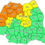 Avertizare meteo. Cod portocaliu de vreme instabilă în județul Arad