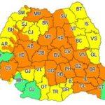 Avertizare meteo. Cod galben de vreme instabilă în județul Arad