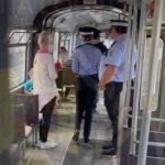 Controale în tramvaiele din Arad. 30 de persoane au fost legitimate