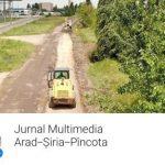 CJ Arad a deschis un jurnal multimedia on-line pentru un drum județean în lucru