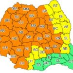 Cod portocaliu de instabilitate atmosferică accentuată, pentru județul Arad