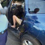 Femeie complet dezbrăcată, în centrul Aradului. A fost dusă la Secția Psihiatrie