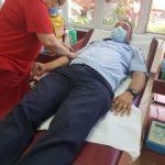 Jandarmi din cadrul IJJ Arad au donat sânge
