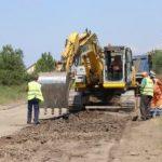 Președintele CJ Arad a oprit asfaltarea la Cuied și a cerut refacerea lucrării