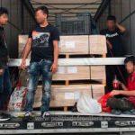 Migranţi găsiți ascunşi într-un camion, la PTF Nădlac II