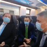 """Ministrul Transporturilor, la Astra Vagoane Călători: """"Plec de aici cu un sentiment de mândrie"""""""