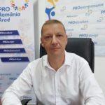 Fostul prefect Cosmin Pribac, candidatul PRO România la Consiliul Județean Arad