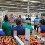 Acțiune de prevenire a răspândirii noului coronavirus, la o fabrică din Sântana