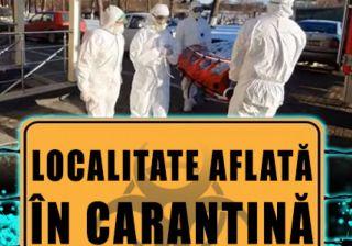 UPDATE Patru localităţi din județul Arad, cu focare de COVID-19, au intrat în carantină