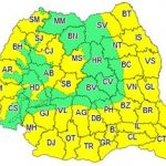 Cod galben de caniculă şi disconfort termic în județul Arad