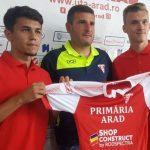 Dragoș Tescan și Denis Rusu, noile achiziții făcute de UTA Arad
