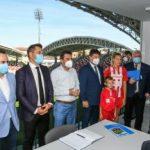 Ministrul Tineretului și Sportului în vizită la Arad