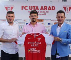 Vlad Morar, noua achiziție a clubului UTA Arad